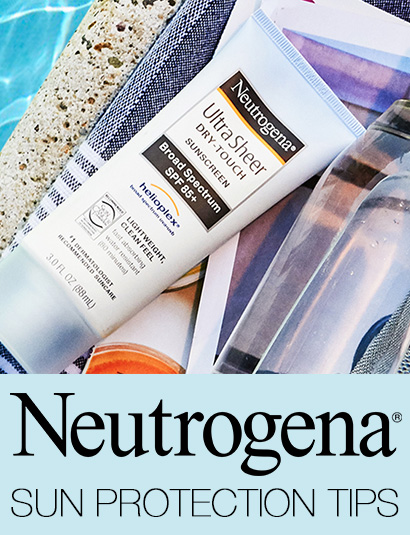 NEUTROGENA SUN PROTECTION TIPS